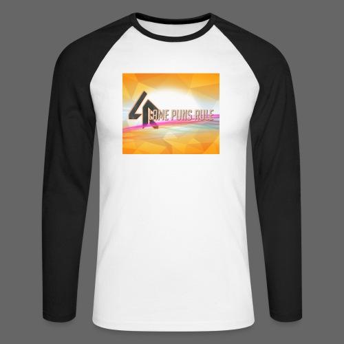 lpr mousepad png - Men's Long Sleeve Baseball T-Shirt