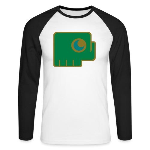 Elefant - Men's Long Sleeve Baseball T-Shirt
