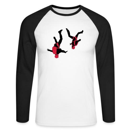 parachutisme Free Fly - T-shirt baseball manches longues Homme