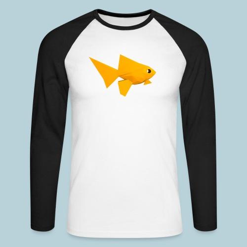 RATWORKS Fish-Smish - Men's Long Sleeve Baseball T-Shirt