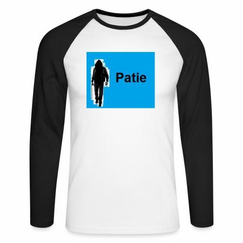 Patie - Männer Baseballshirt langarm