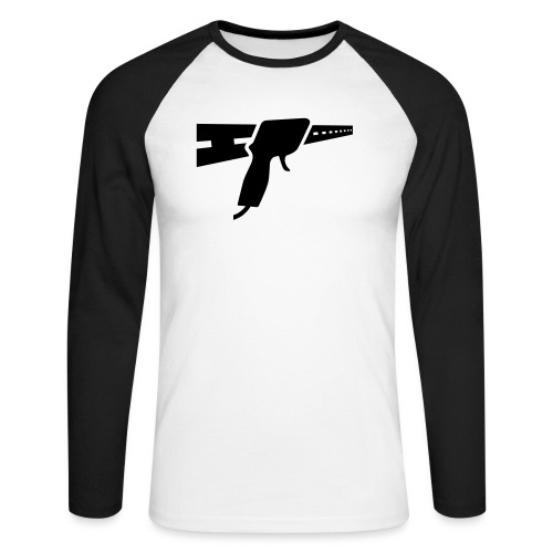 Slot Wars Logo - Männer Baseballshirt langarm