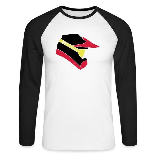 Motocross helmet vecto 3c - T-shirt baseball manches longues Homme