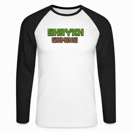 Shaykh Gaming Merch - Men's Long Sleeve Baseball T-Shirt