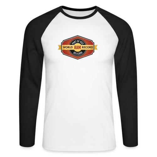 Nappo - Männer Baseballshirt langarm