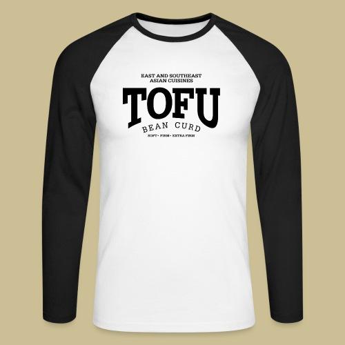Tofu (black) - Männer Baseballshirt langarm