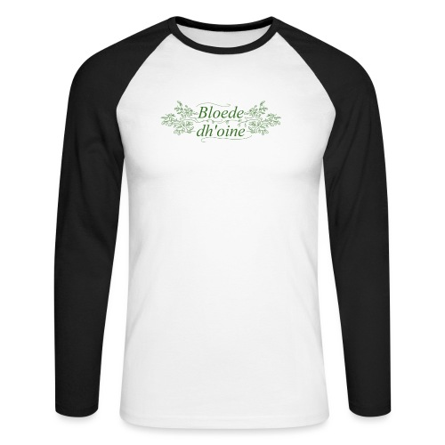 Bloede Dhoine - Men's Long Sleeve Baseball T-Shirt