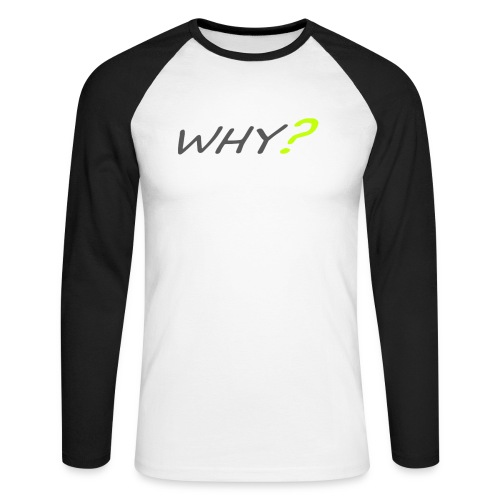 WHY? - Långärmad basebolltröja herr