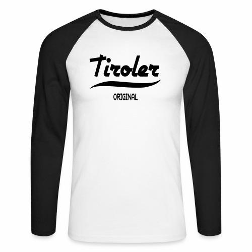 Tirol - Männer Baseballshirt langarm