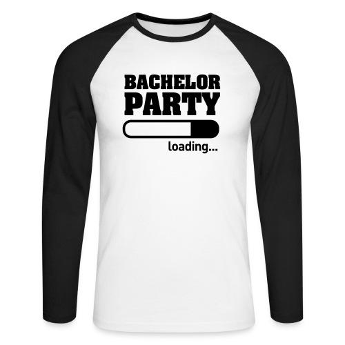 Bachelor Party Loading - Mannen baseballshirt lange mouw