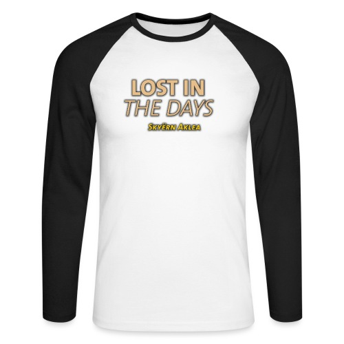 SKYERN AKLEA LOST IN THE DAYS - T-shirt baseball manches longues Homme