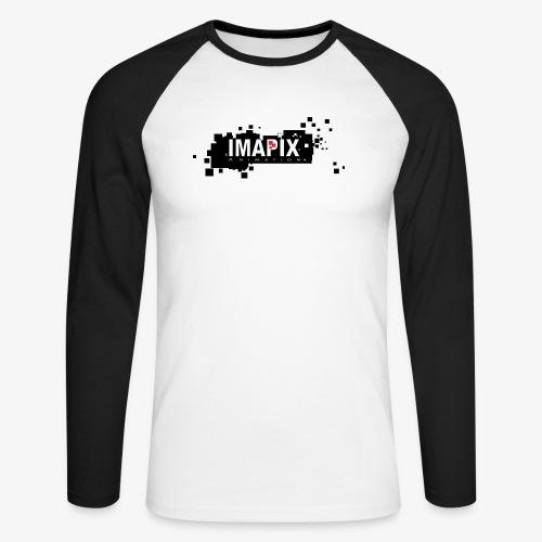 IMAPIX ANIMATION Rectro02 - T-shirt baseball manches longues Homme