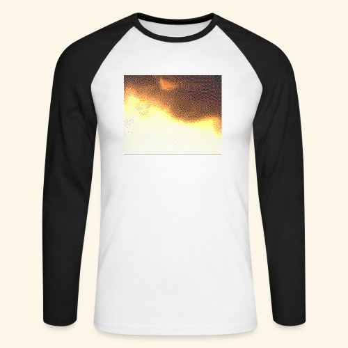 sky cloud - T-shirt baseball manches longues Homme