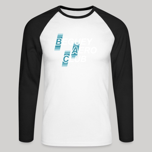 logo 2018 clair - T-shirt baseball manches longues Homme