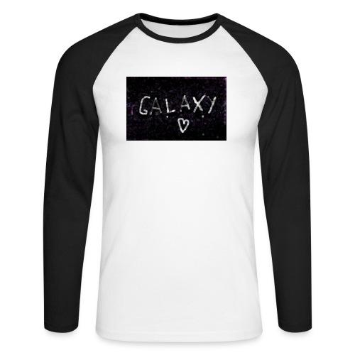 galaxy - Männer Baseballshirt langarm