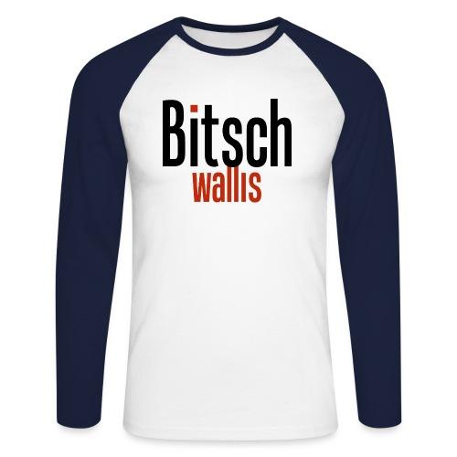 bitsch wallis - Männer Baseballshirt langarm