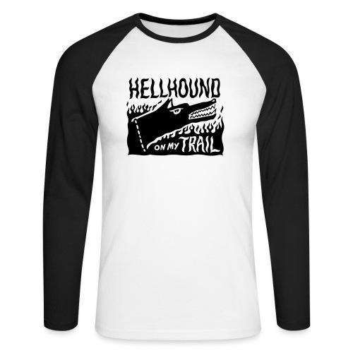 Hellhound on my trail - Men's Long Sleeve Baseball T-Shirt