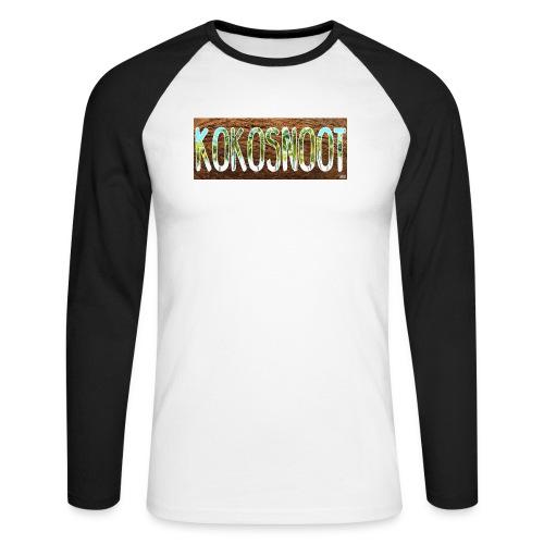 Kokosnoot - Mannen baseballshirt lange mouw
