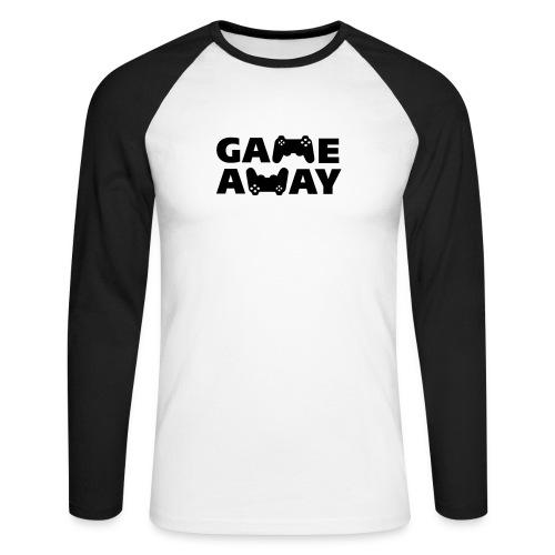 game away - Mannen baseballshirt lange mouw