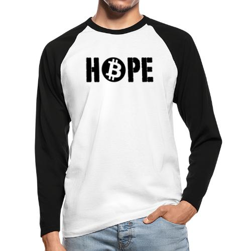 HOPE HOPE - T-shirt baseball manches longues Homme