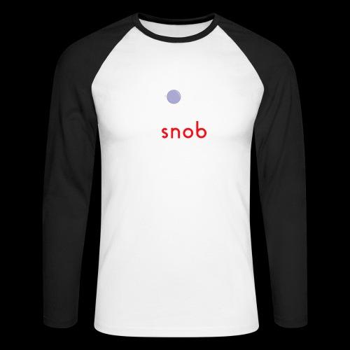 NUOVO3 png - Men's Long Sleeve Baseball T-Shirt