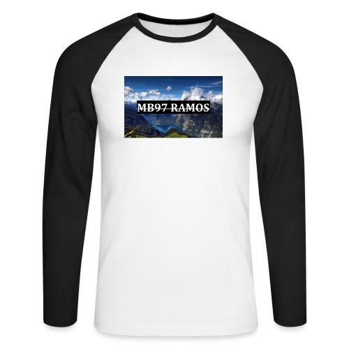MB97RAMOS - Männer Baseballshirt langarm