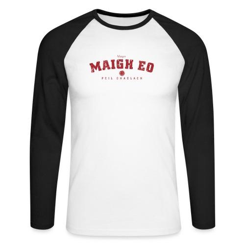 mayo vintage - Men's Long Sleeve Baseball T-Shirt