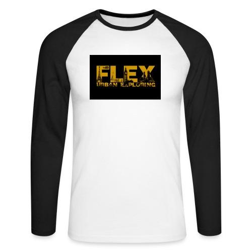 FlexUrban - Men's Long Sleeve Baseball T-Shirt