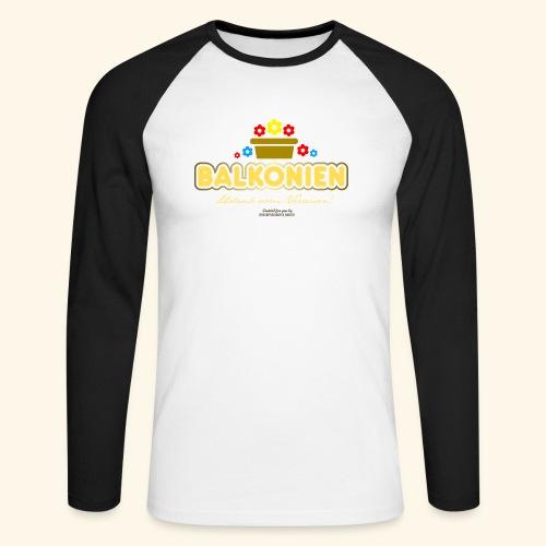 Balkonien T Shirt - Männer Baseballshirt langarm