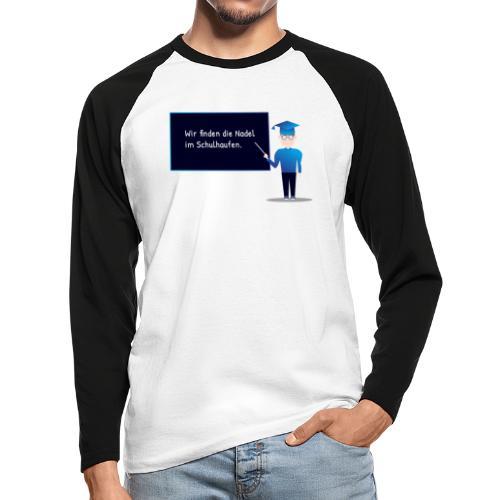 Slogan Collection - Männer Baseballshirt langarm