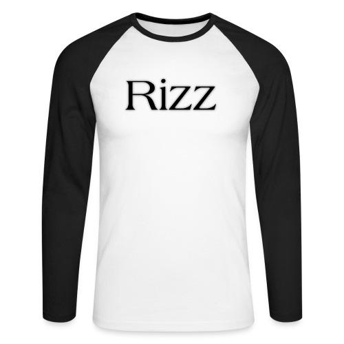 cooltext193349288311684 - Men's Long Sleeve Baseball T-Shirt