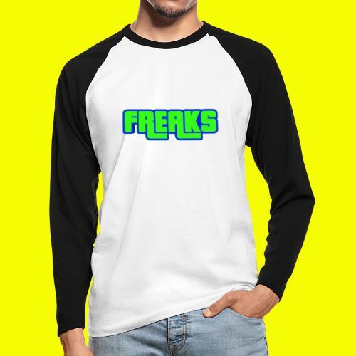 YOU FREAKS - Männer Baseballshirt langarm