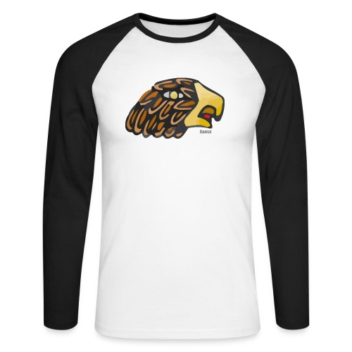 Aztec Icon Eagle - Men's Long Sleeve Baseball T-Shirt