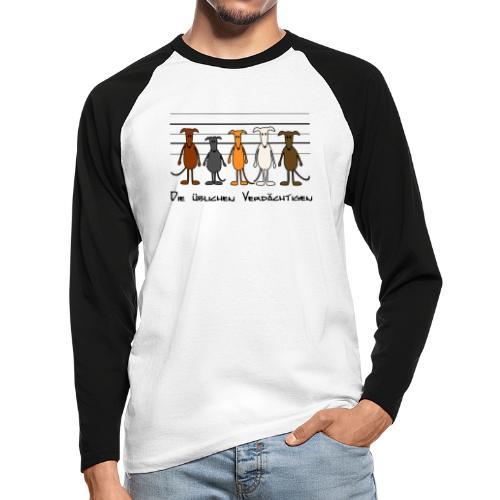 Die üblichen Verdächtigen - Männer Baseballshirt langarm