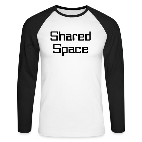 Shared Space - Männer Baseballshirt langarm