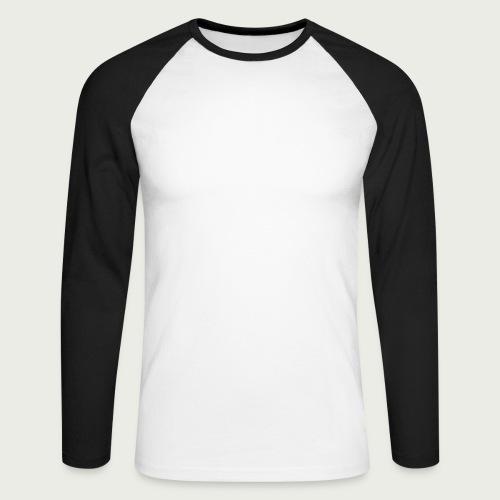 RuokangasGuitars white - Men's Long Sleeve Baseball T-Shirt