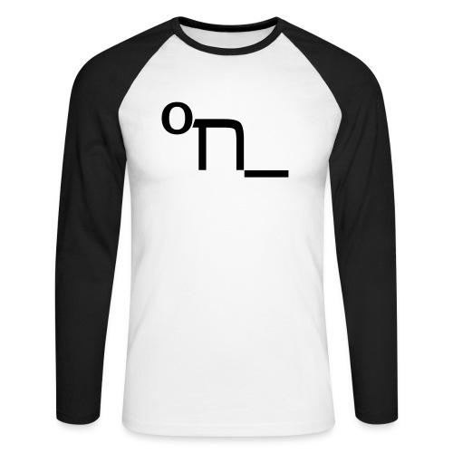 DRUNK - Men's Long Sleeve Baseball T-Shirt