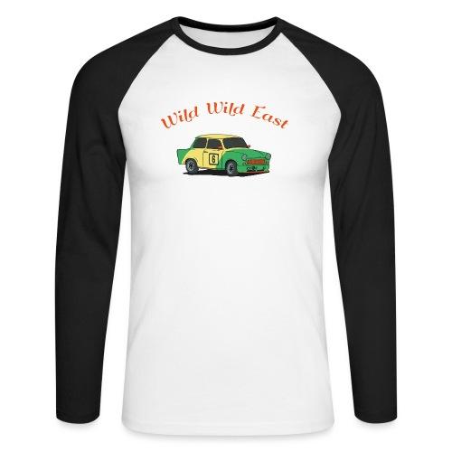 Wild Wild East - Männer Baseballshirt langarm