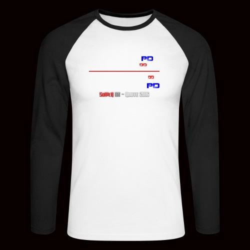 DD på PD Kollektion 2016 - Langærmet herre-baseballshirt