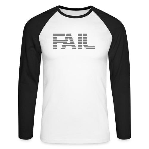 FAIL - Männer Baseballshirt langarm