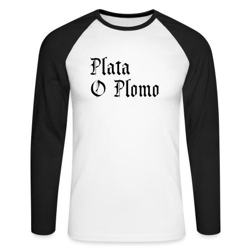 Plata o plomo - T-shirt baseball manches longues Homme