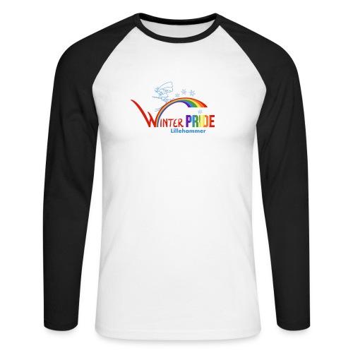 Winterpride - Langermet baseball-skjorte for menn