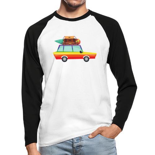 Gay Van   LGBT   Pride - Männer Baseballshirt langarm