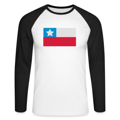 chile - Männer Baseballshirt langarm