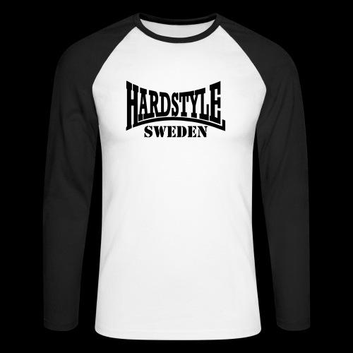 hardstyle - Långärmad basebolltröja herr