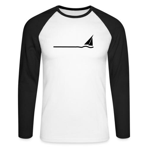 Regatta 3 (monochrom) - Männer Baseballshirt langarm