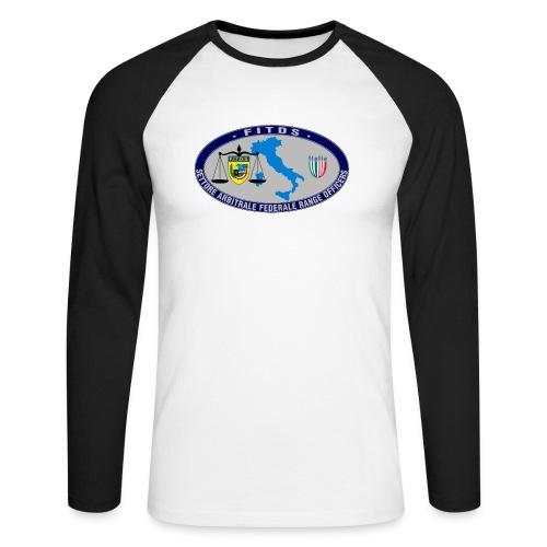 Logo SAFRO - Maglia da baseball a manica lunga da uomo