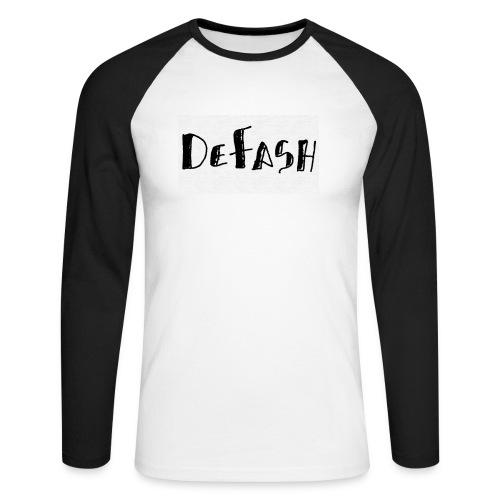 Defash1-png - T-shirt baseball manches longues Homme