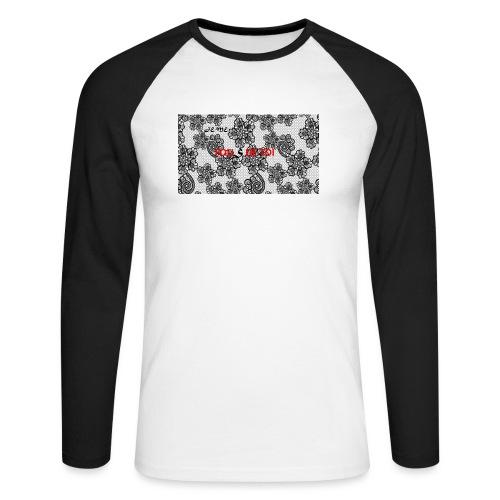 JE ME FOUS DE TOI 3 edite - T-shirt baseball manches longues Homme
