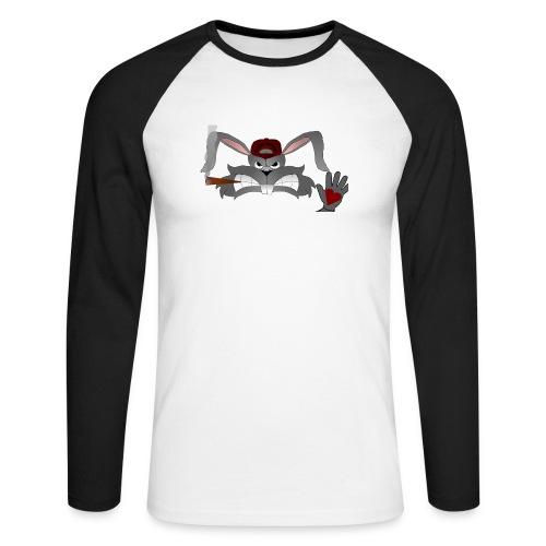 Hallo How are you - Langærmet herre-baseballshirt